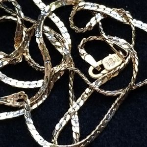 14k solid Italy Gold chain 22""
